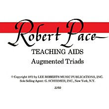 Lee Roberts Flash Cards, Augmented Triads, Per Set Pace Piano Education Series