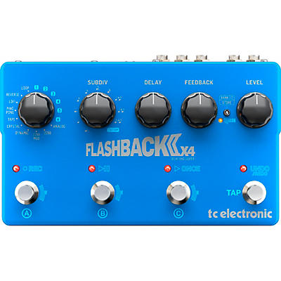 TC Electronic Flashback 2 X4 Delay and Looper Effects Pedal