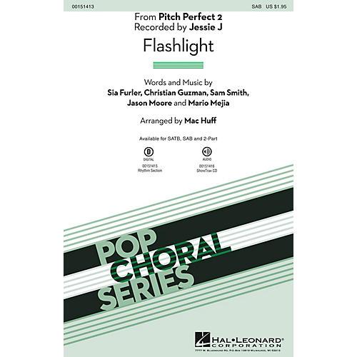 Hal Leonard Flashlight (from Pitch Perfect 2) SAB by Sia arranged by Mac Huff