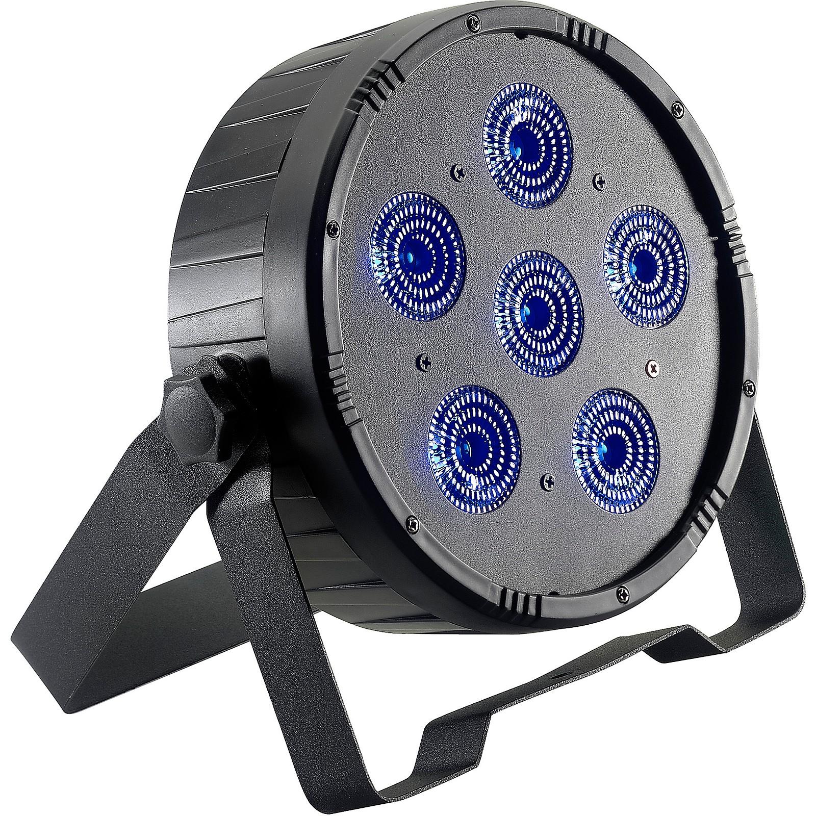 Stagg Flat ECOPAR 6 RGBWA+UV LED Spotlight Wash Light
