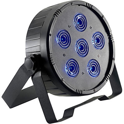 Stagg Flat ECOPAR 6 RGBWA+UV LED Spotlight Wash Light