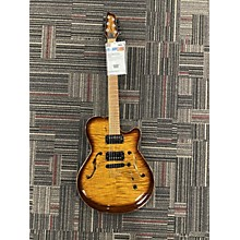 Godin Flat Five Hollow Body Electric Guitar