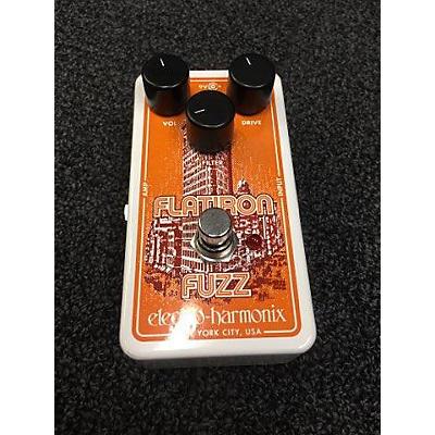Electro-Harmonix Flatiron Fuzz Effect Pedal