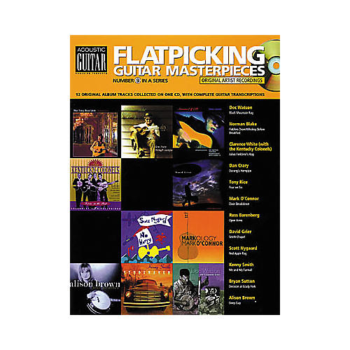 String Letter Publishing Flatpicking Masterpieces Acoustic Guitar #9 (Book/CD)