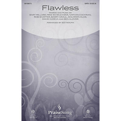 PraiseSong Flawless SATB by MercyMe arranged by Ed Hogan