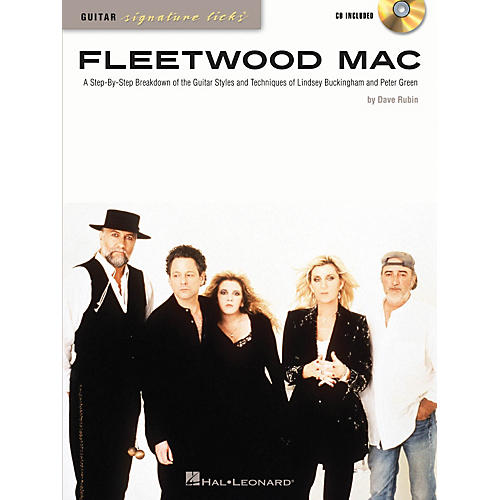 Hal Leonard Fleetwood Mac Guitar Signature Licks Book/CD