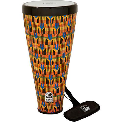 Toca Flex Drum with Strap Kente Cloth