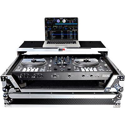 ProX Flight Case For RANE ONE DJ Controller with Sliding Laptop Shelf, 1U Rack, and Wheels