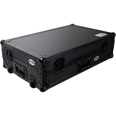 ProX Flight Case For RANE ONE Dj Controller W-Sliding Laptop Shelf & Wheels| Black on Black