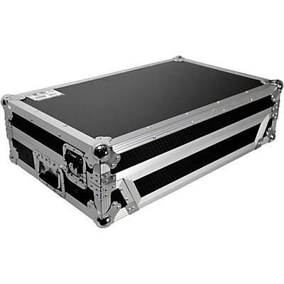 ProX Flight Case for Pioneer DDJ-FLX6 W/ 1U Rackspace, Glide Sliding Laptop Shelf and Wheels