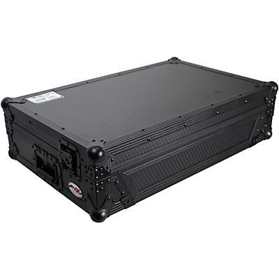 ProX Flight Case for Pioneer DDJ-FLX6 W/ 1U Rackspace, Wheels, and Black on Black Hardware