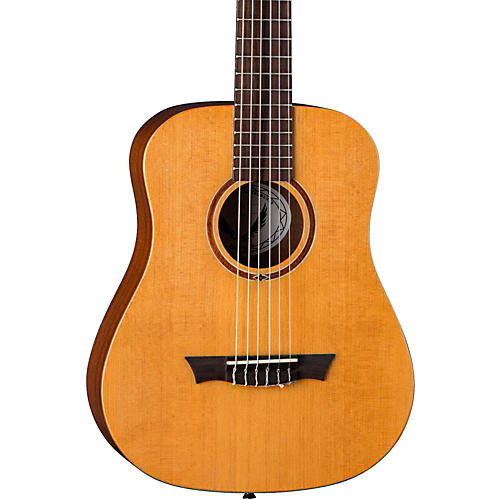 Dean Flight Nylon Satin Spruce Travel Guitar