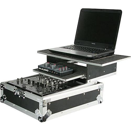 Odyssey Flight Zone Glide Style Combo DJ Mixer Case