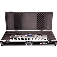 Odyssey Flight Zone: Keyboard case for 61 note keyboards with wheels