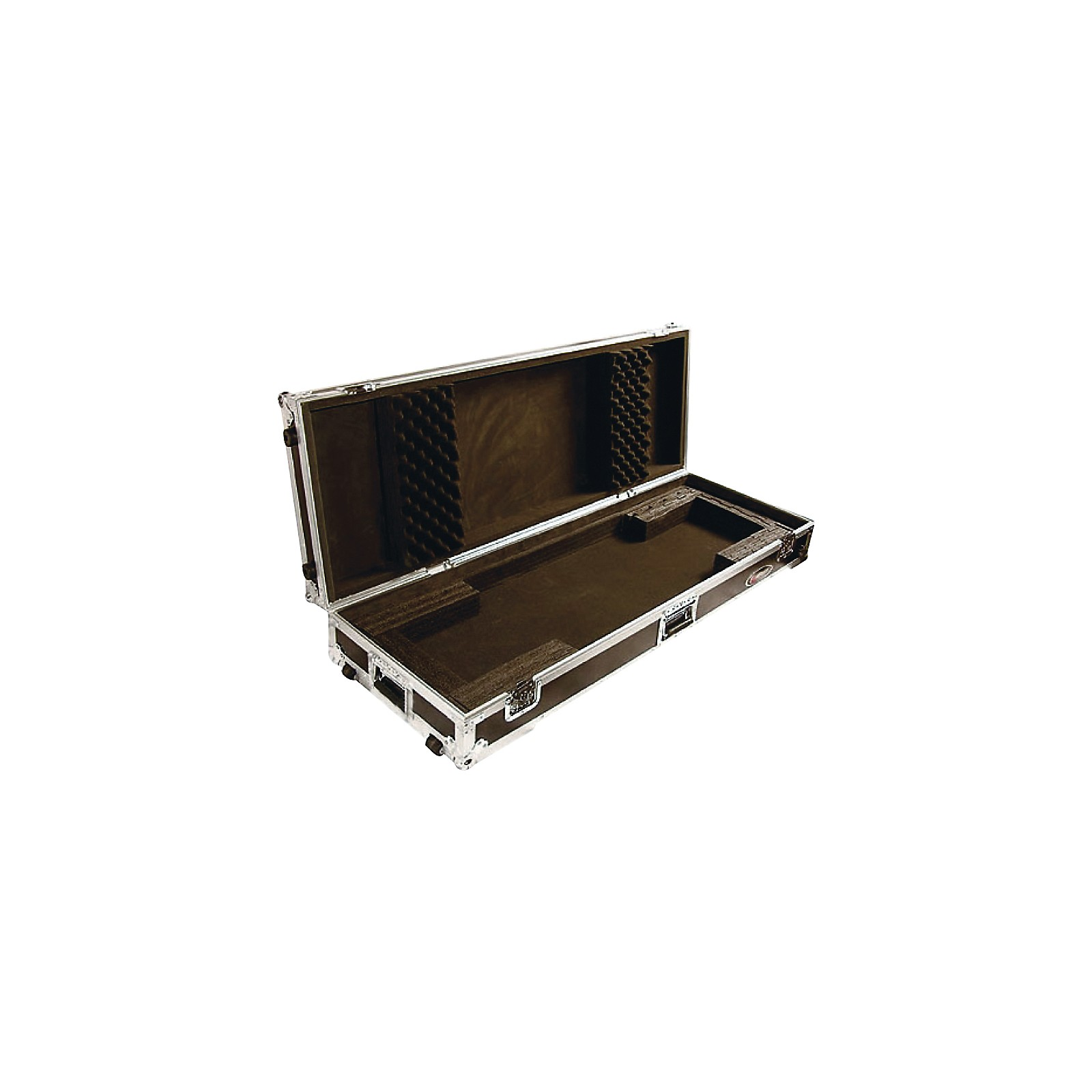 Odyssey Flight Zone: Keyboard case for 76 note keyboards with wheels