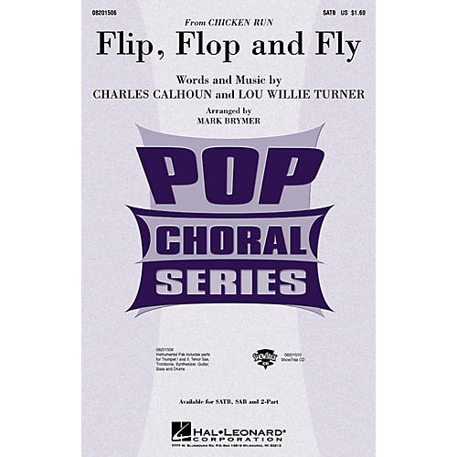 Hal Leonard Flip, Flop and Fly (from Chicken Run) ShowTrax CD Arranged by Mark Brymer