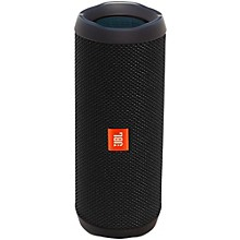 Flip4 Portable speaker with Bluetooth, built-in battery, microphone and waterproof Black