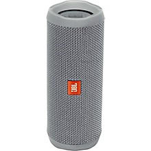Flip4 Portable speaker with Bluetooth, built-in battery, microphone and waterproof Gray
