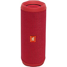 Flip4 Portable speaker with Bluetooth, built-in battery, microphone and waterproof Red