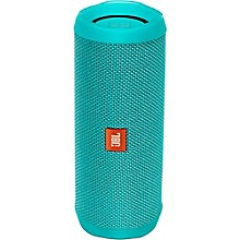 Flip4 Portable speaker with Bluetooth, built-in battery, microphone and waterproof Teal