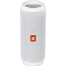 Flip4 Portable speaker with Bluetooth, built-in battery, microphone and waterproof White