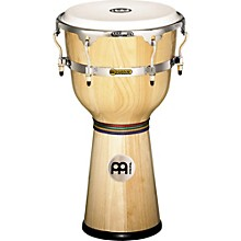 Floatune Wood Djembe Natural 12 In
