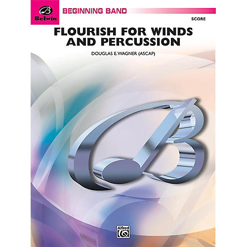 Alfred Flourish for Winds and Percussion Concert Band Grade 1 Set