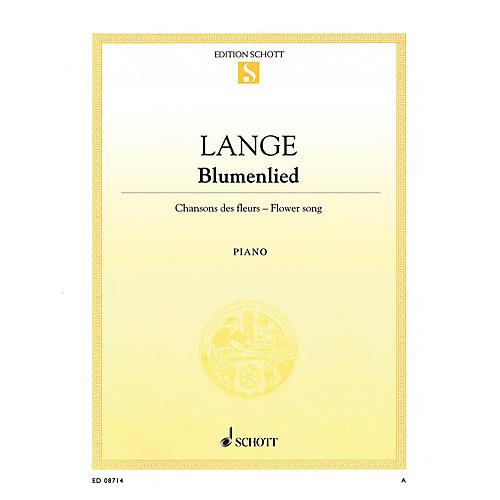 Schott Flower Song, Op. 39 (Blumenlied) Schott Series