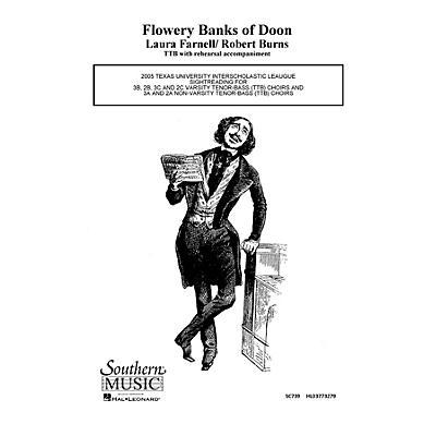 Hal Leonard Flowery Banks of Doon (Choral Music/Octavo Secular Ttb) TTB Composed by Farnell, Laura