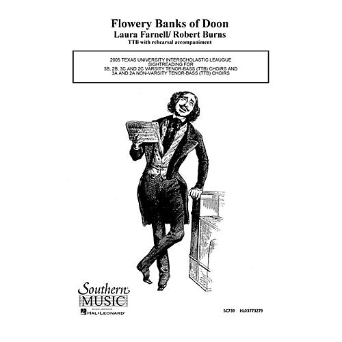 Hal Leonard Flowery Banks of Doon (Choral Music/Octavo Secular Ttb) TTB Composed by Farnell, Laura