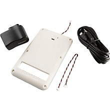Fishman Fluence 9V Rechargeable Battery Pack for Strat White