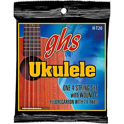 GHS Fluorocarbon Tenor Wound C Ukulele Strings
