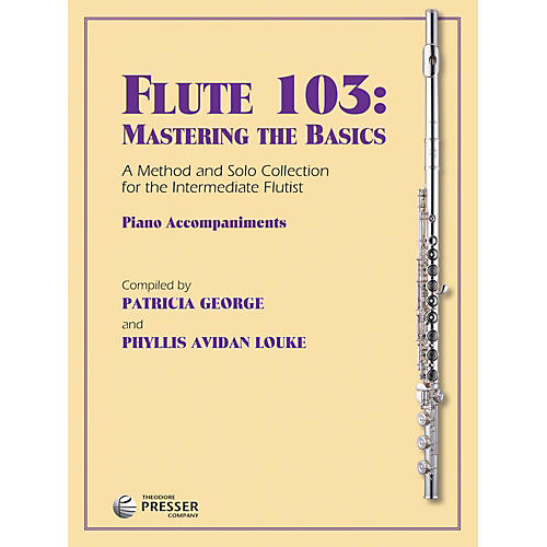 Carl Fischer Flute 103: Piano Accompaniment (Book)