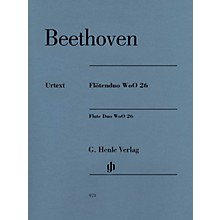G. Henle Verlag Flute Duo, WoO. 26 Henle Music Folios Series Softcover