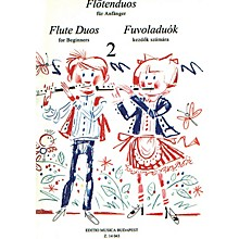 Editio Musica Budapest Flute Duos for Beginners - Volume 2 EMB Series
