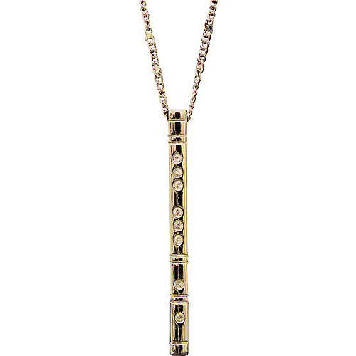 Gifts of Note Flute Earrings and Pendant