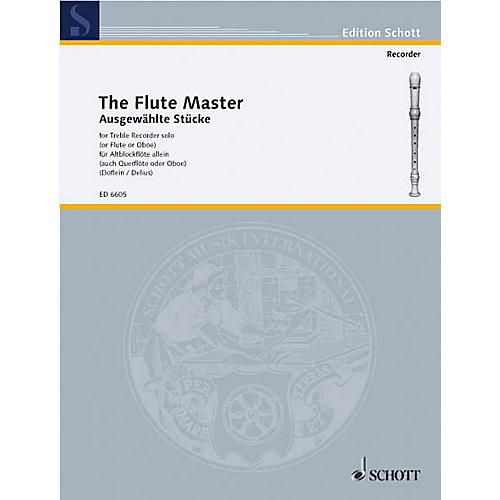 Schott Flute Master Selected Pieces Schott Series