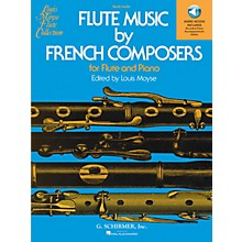G. Schirmer Flute Music by French Composers for Flute and Piano - (Book/Online Audio)