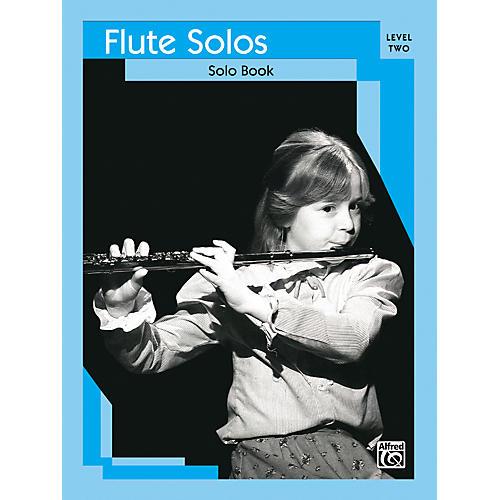 Alfred Flute Solos Level II Solo Book