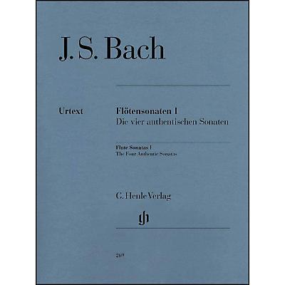 G. Henle Verlag Flute Sonatas - Volume I (The Four Authentic Sonatas - with Violoncello Part) By Bach