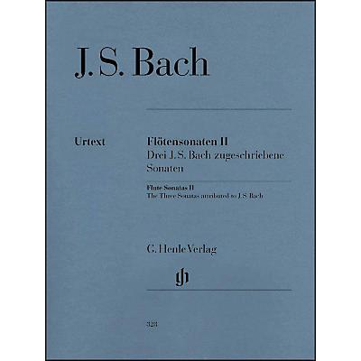 G. Henle Verlag Flute Sonatas - Volume II By Bach