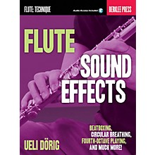 Berklee Press Flute Sound Effects Berklee Guide Series Softcover Audio Online Written by Ueli Dörig