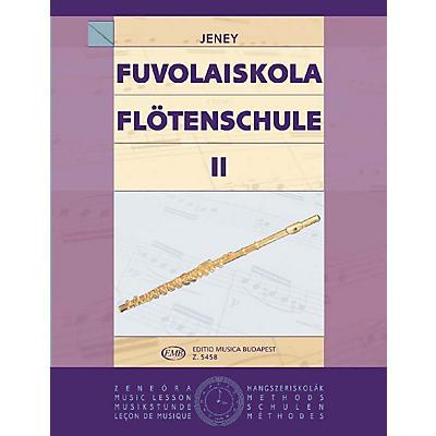 Editio Musica Budapest Flute Tutor - Volume 2 EMB Series by Zoltán Jeney