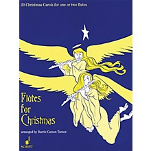 Schott Flutes for Christmas (20 Christmas Carols for One or Two Flutes) Schott Series