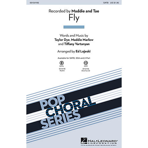Hal Leonard Fly 2-Part Arranged by Ed Lojeski