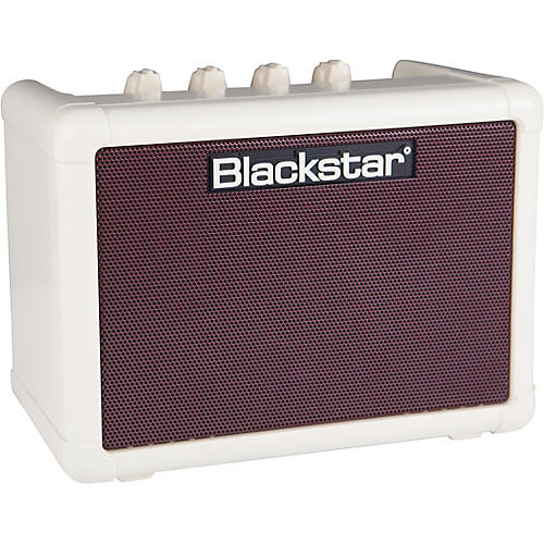 Blackstar Fly 3 3W 1x3 Guitar Combo Amp Vintage Cream Oxblood with Fly 103 3W Cab and Power Supply