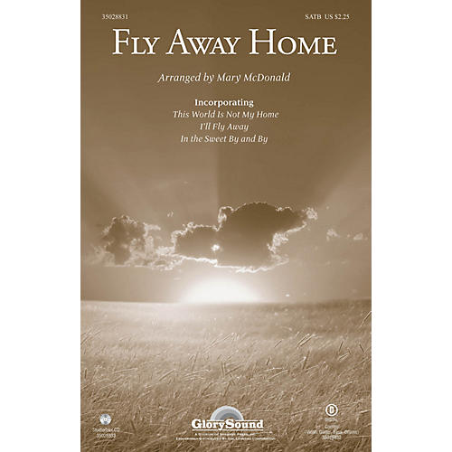 Shawnee Press Fly Away Home Studiotrax CD Arranged by Mary McDonald