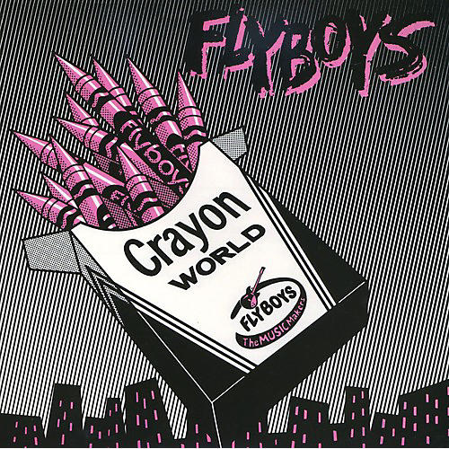 Alliance Flyboys - Crayon World/Square City [Single] [Pink Vinyl] [Limited Edition]