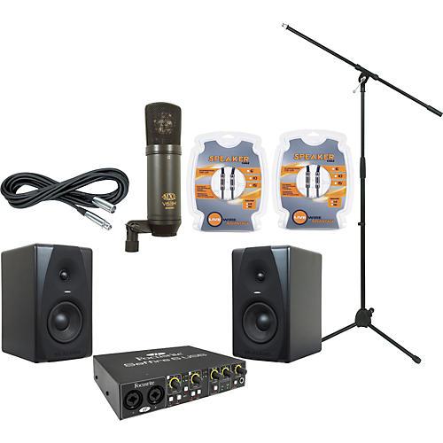 M-Audio Focusrite Saffire 6 and M-Audio CX5 Recording Package