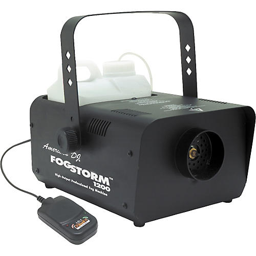 American DJ Fog Storm 1200HD Fog Machine with Remote